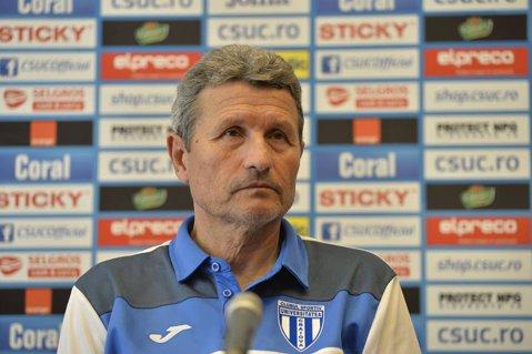 """Craiova a ajuns la un punct de lider. Mulţescu: """"Am avut multe emoţii, nu ştiu dacă mă mai ţine inima"""""""