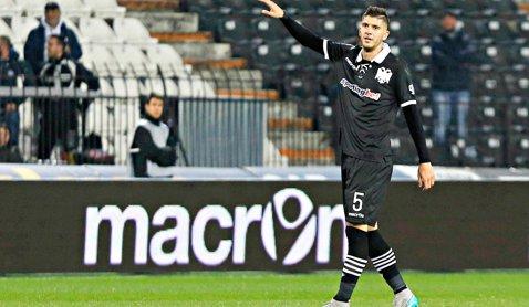 Steaua, aproape de a aduce un fundaş central! Dimitrios Chatziisaias, care refuzase iniţial împrumutul, s-a răzgândit