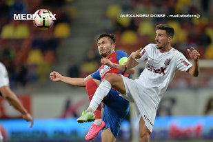 Bătuţi fără martori! Steaua - CFR Cluj 1-2, prima înfrângere a sezonului într-o atmosferă dezolantă pe Naţional Arena