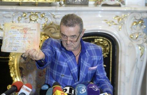 """CSA Steaua scoate marca la licitaţie. Reacţia lui Gigi Becali: """"Abia aştept, ca să terminăm toată discuţia asta"""""""