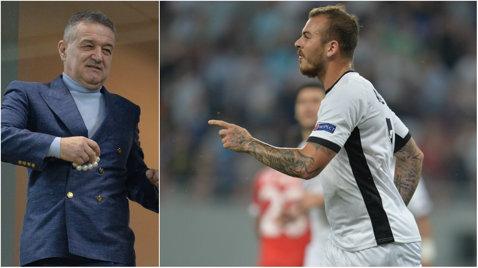 5,6 milioane de euro şi urmează alte două mutări spectaculoase! Cum va arăta Steaua după ultimele transferuri. Obiectivul lui Becali: primăvara Champions League