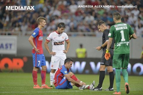 CCA a stabilit arbitrul care va conduce Steaua - CS U Craiova