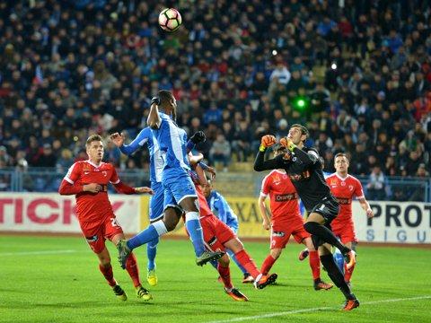 Meci superb la Mediaş! Gaz Metan - CS U Craiova 2-2. Oltenii au ratat ocazia de a egala Steaua în clasament