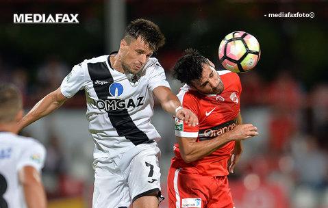 Llullaku domină clasamentul golgheterilor din Liga 1. Reacţia albanezului după cele două goluri înscrise în poarta Craiovei