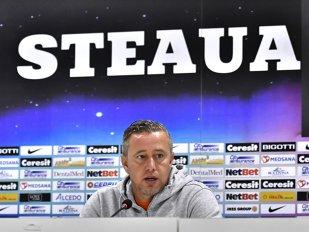 """Steaua şi fotbalul """"contracronometru"""". Reghe a făcut """"planul"""" pentru Foresta: """"Trebuie să marcăm repede, terenul va fi o mocirlă după 15 minute"""""""