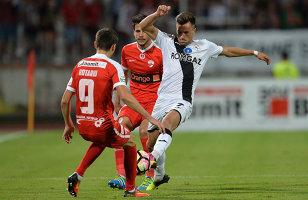 Visul frumos, vis urât! Dinamo, umilită la Mediaş: 4-0, iar Pustai e neînvins de 12 meciuri. Gnohere s-a accidentat