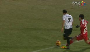 FOTO | Dinamoviştii, din nou victimele greşelilor de arbitraj. Alexandru Tudor a dat penalty, deşi faultul la Llullaku a fost în afara careului