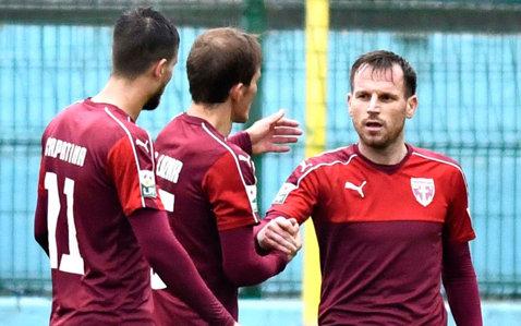 FC Voluntari - Lumezzano, scor 3-2, într-un meci amical jucat în Italia