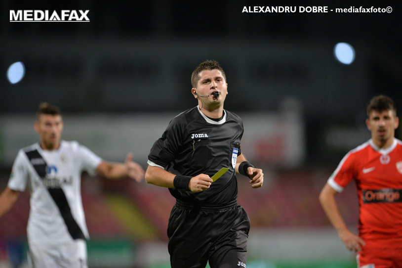 Florin Chivulete va arbitra meciul FC Steaua - FC Voluntari, din Liga 1