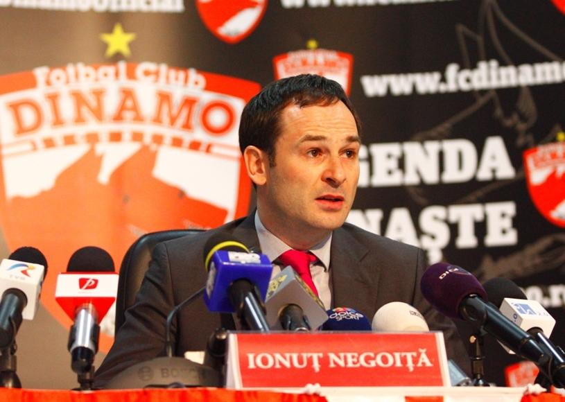 """Nu aştepta telefonul lui Negoiţă: """"Ce să caut eu la Dinamo? Eu vreau să fiu un 'mic Ferguson'!"""""""