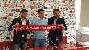 """Contra, prezentat la Dinamo: """"Avem o înţelegere şi pentru sezonul următor dacă vor fi îndeplinite obiectivele!"""" Mutu i-a """"făcut"""" deja lista: care sunt 'ţintele' echipei"""