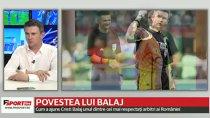 """VIDEO EXCLUSIV   Dialog GROZAV între Balaj şi un antrenor din Liga 1. Centralul, rugat de naşul său să închidă ochii la o fază: """"Tu eşti Cristi Balaj. Cum să te suspende?"""""""