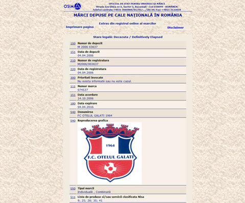 """Marca """"Oţelul"""" are un nou proprietar! Suma pentru care câştigătorul licitaţiei deţine acum toate trofeele cucerite de fosta campioana a României"""