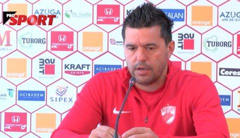 """O săptămână de """"totul sau nimic"""" pentru Dinamo. Contra: """"Avem trei finale şi trebuie să le câştigăm pe toate! Nu avem marjă de eroare"""". VIDEO"""