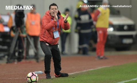 """Contra nu se îmbată cu apă rece după victoria cu CS U Craiova: """"Am jucat cu sabia deasupra capului la fiecare meci"""". """"Guriţă"""", extrem de sincer: """"Da, o să fiu suporterul Stelei!"""""""