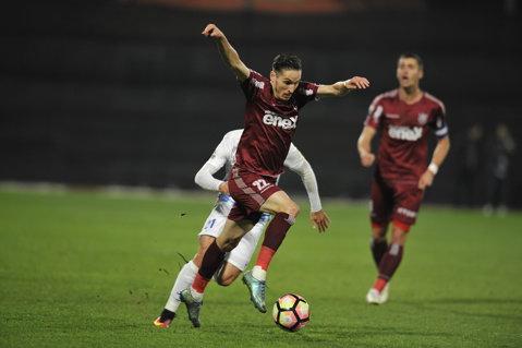 Thriller la Iaşi! CFR a ratat tot meciul şi a câştigat în prelungiri, după ce Cristea aşternuse teroarea la Cluj, cu golul din minutul 91