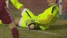 S-au încins spiritele în Copou! FOTO | Fotbaliştii CFR-ului au cerut gol valabil la şutul lui Bud. Ce decizie a luat centralul partidei
