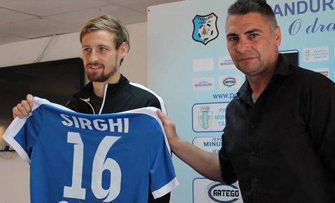 OFICIAL | Cristi Sîrghi a revenit în Liga 1. Primele declaraţii
