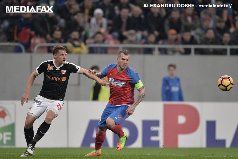 LIVE BLOG | FCSB - Dinamo 2-1. Reghecampf respiră uşurat, după un adevărat derby pe Arena Naţională cu două eliminări, ocazii uriaşe şi o bară a lui Rivaldinho la ultima fază