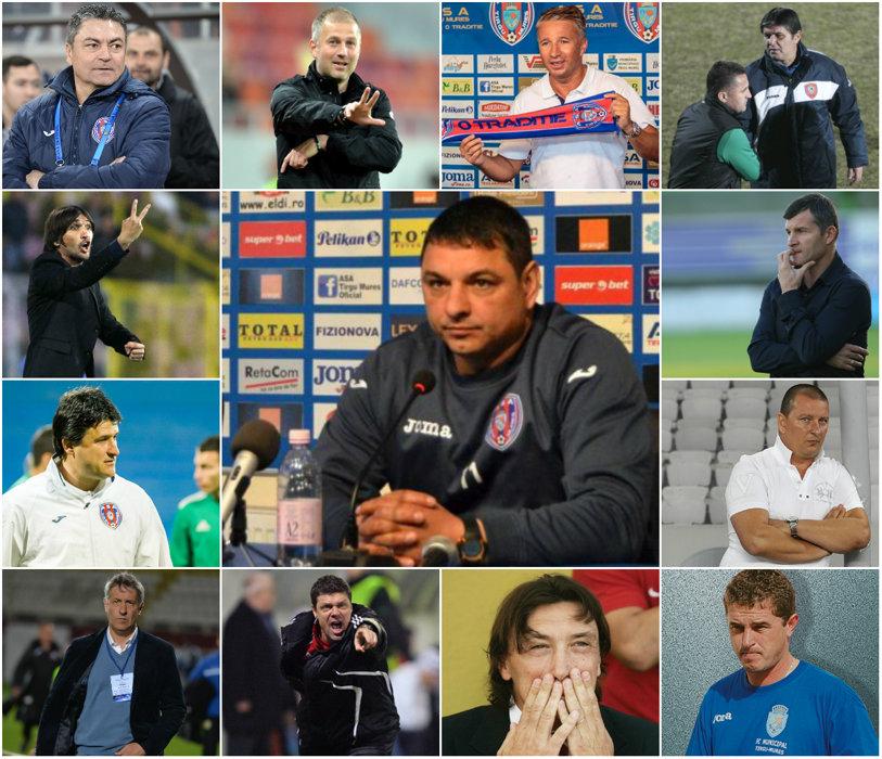 """L-au depăşit pe Becali. Ionel Ganea, al 26-lea antrenor la Târgu Mureş, în 9 ani: """"Nu avem nimic de pierdut"""""""