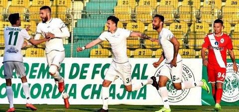 """Concordia - FC Voluntari 0-2. Bălan îl face fericit pe Niculescu cu o """"dublă"""" superbă şi echipa lui Alexa continuă să trăiască periculos"""