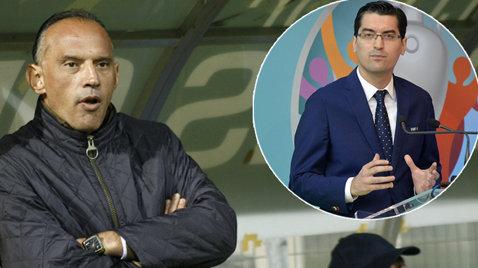 """Cluburile din Liga 1 au respins propunerea FRF de """"solidaritate financiară"""". Prunea, atac dur la adresa lui Burleanu: """"Are un tupeu inimaginabil, totul este o diversiune comunisto-securistă pentru a învrăjbi familia fotbalului""""."""