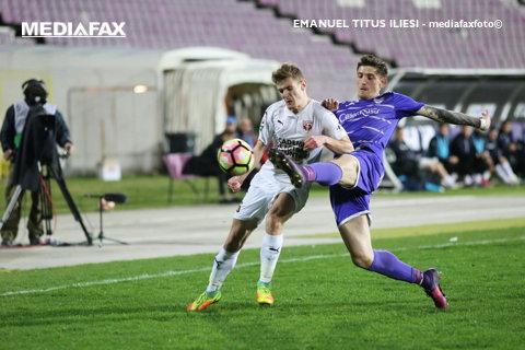 FC Voluntari - ACS Poli 2-1. Primul eşec pentru Timişoara după 6 etape. Claudiu Niculesc rămâne neînvins pe banca ilfovenilor
