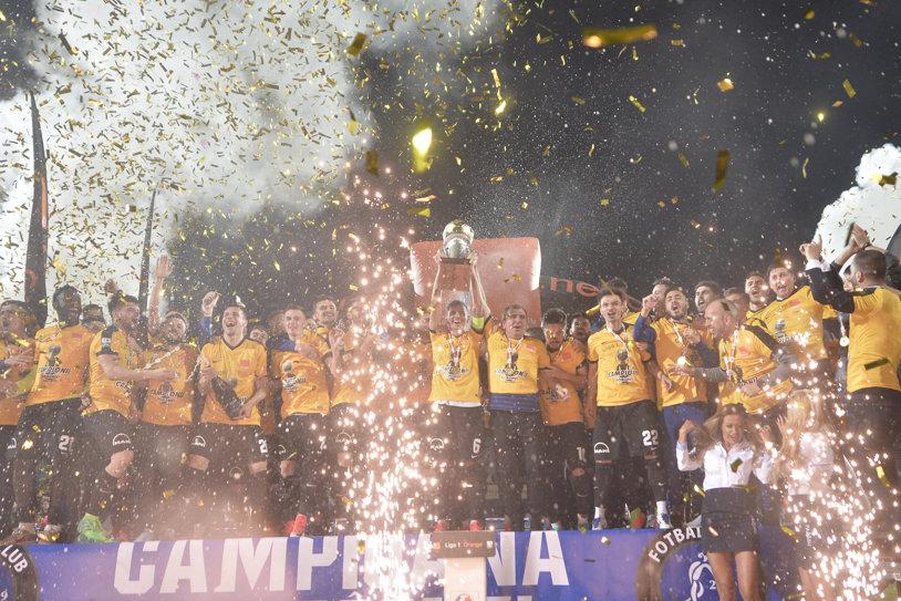 """ISTORIE!!! Viitorul e noua campioană a României după 1-0 cu CFR! """"Renegatul"""" Iancu a înscris golul decisiv după un penalty făcut de Larie şi a îndeplinit visul lui Hagi. FCSB termină pe locul doi, Dinamo rămâne pe trei   VIDEO"""
