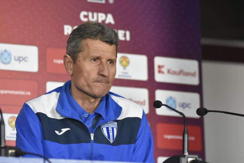 """Gigi Mulţescu a confirmat că pleacă de la CS U Craiova: """"Acum pot să spun. Da, e final de drum, dar nu am starea necesară să detaliez"""". Discursul antrenorului după eliminarea din semifinalele Cupei"""