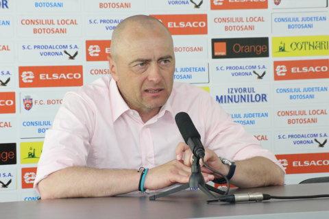 """Leo Grozavu şi-a anunţat plecarea de la FC Botoşani: """"Prefer să las pe altcineva care poate să facă mai mult ca mine!"""""""