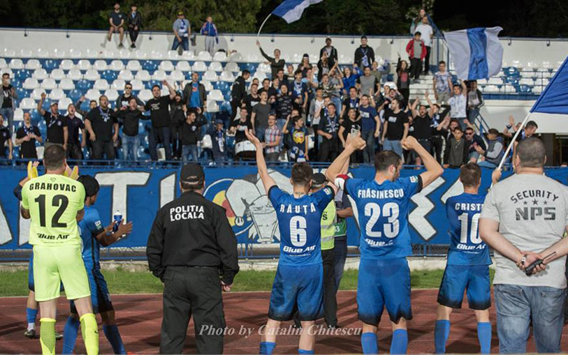 Campionii play-out-ului! Ieşenii au remizat cu FC Voluntari în ultimul meci pe teren propriu din acest sezon. Golubovic a înscris un nou gol superb, cu călcâiul
