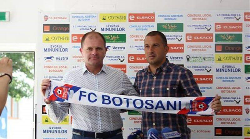 """Costel Enache, prezentat oficial la FC Botoşani: """"Trebuie să spun din start că nu sunt un magician!"""""""