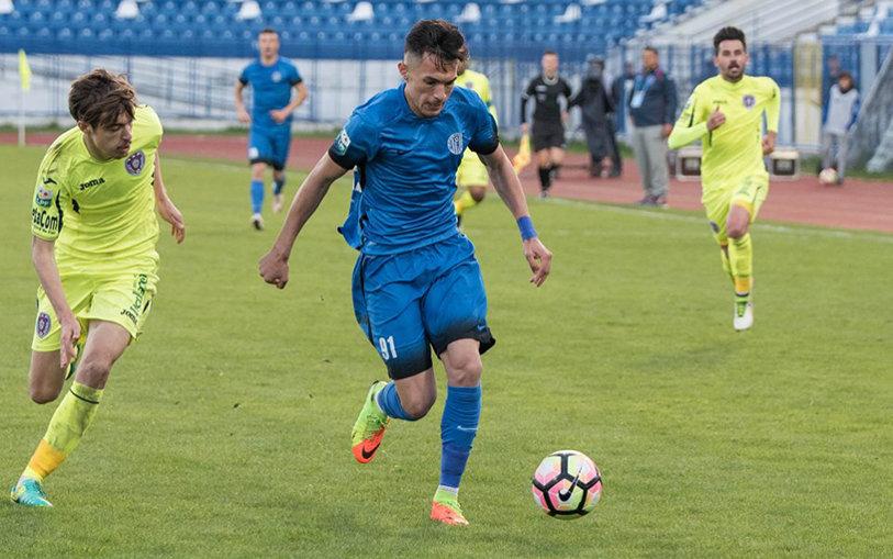 Meci de neuitat pentru doi juniori ai Iaşiului. Asăvoaei a debutat în Liga 1, iar Moldovan a marcat primul gol