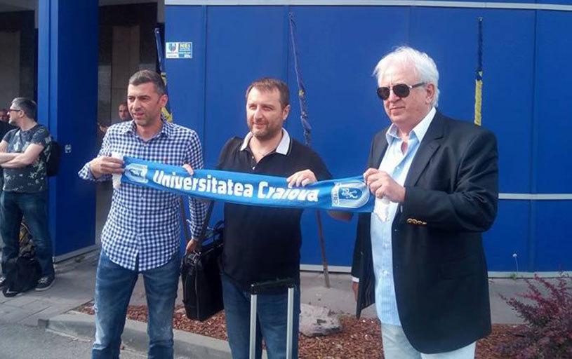 FOTO | Devis Mangia a ajuns la Craiova. Primele declaraţii pe care le-a făcut
