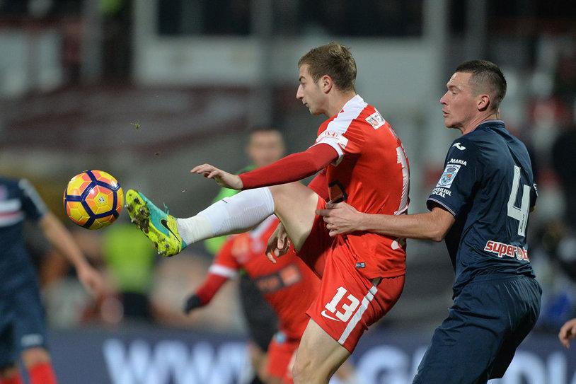 FC Dinamo l-a împrumutat pe atacantul Daniel Popa la FC Botoşani