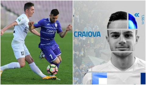 OFICIAL | Primul transfer făcut de CS U Craiova după numirea lui Mangia!