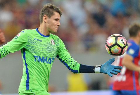 Adio CFR şi Liga 1! Astra şi Kayserispor s-au înţeles pentru transferul lui Silviu Lung. Reacţia portarului după ce a ajuns sub comanda lui Şumudică