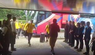 VIDEO | Primire de gală pentru FCSB în cantonamentul din Olanda. De ce au ieşit toţi angajaţii în faţa hotelului unde s-a cazat vicecampioana