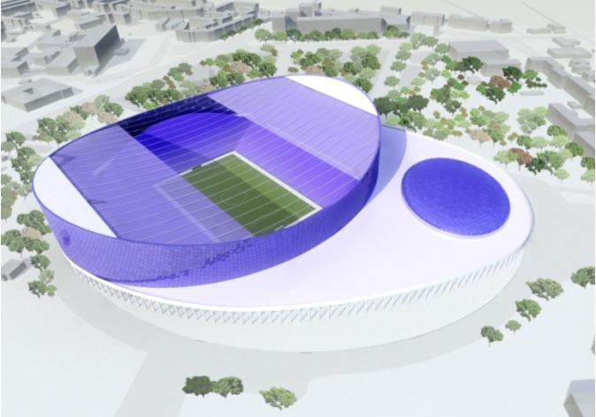 Se construieşte un nou stadion ultramodern în România! Echipa din Liga 1 care se va bucura de arena de 31.000 de locuri