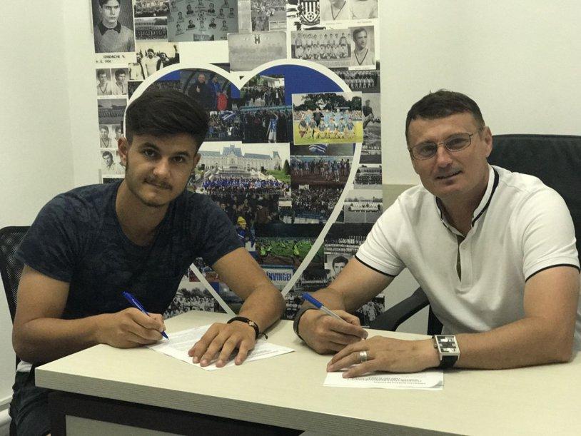 Marius Chelaru şi-a prelungit contractul cu CSM Poli Iaşi