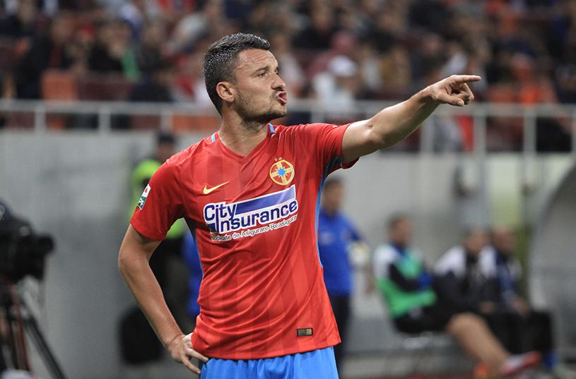 """Constantin Budescu, debut cu gol pentru FCSB: """"E bine că am câştigat!"""" Cum a reacţionat când publicul i-a strigat numele: """"N-am jucat până acum la echipe cu mulţi suporteri"""""""