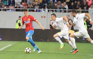 """Reacţia lui Gigi Becali după ce FCSB s-a chinuit cu FC Voluntari: """"Nu sunt mulţumit!"""" Ce jucători l-au încântat şi pe cine a criticat"""