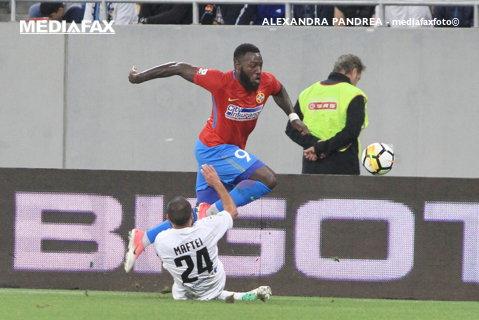 Un Bizon salvează turma. ACS Poli - FCSB 0-1, după un meci urât decis de curajul lui Dică de a-l schimba pe Alibec cu Gnohere