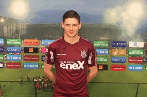 Concordia Chiajna l-a împrumutat pe Dino Spehar de la CFR Cluj