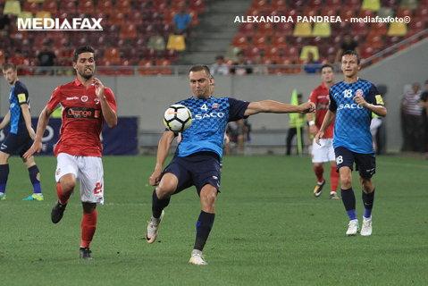 FC Botoşani - Sepsi OSK 5-1. Moldovenii au urcat temporar pe primul loc al Ligii 1! Moruţan a ieşit accidentat în repriza secundă