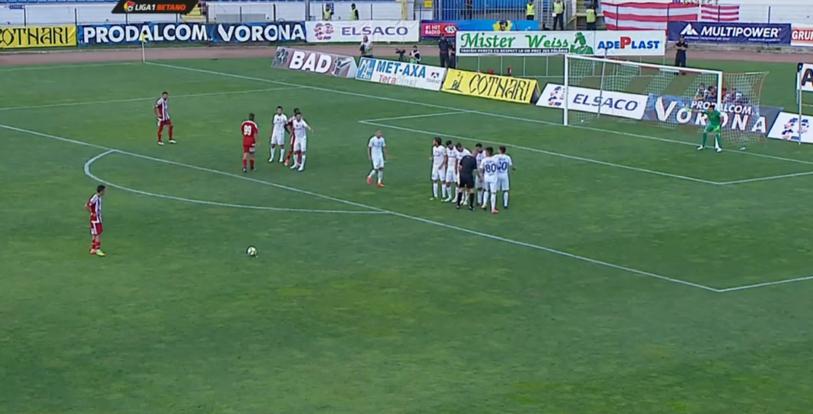 Patrik Petre a reuşit primul gol la Sepsi OSK! Fotbalistul problemă al lui Dinamo a marcat superb din lovitură liberă | FOTO cu execuţia şi mesajul pentru colegii din Ştefan cel Mare