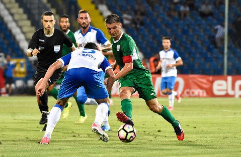 Concordia Chiajna - CSM Poli Iaşi 0-1. Autogolul lui Feussi, primul gol marcat de moldoveni în noul sezon. Miriuţă, un car de nervi după fluierul final