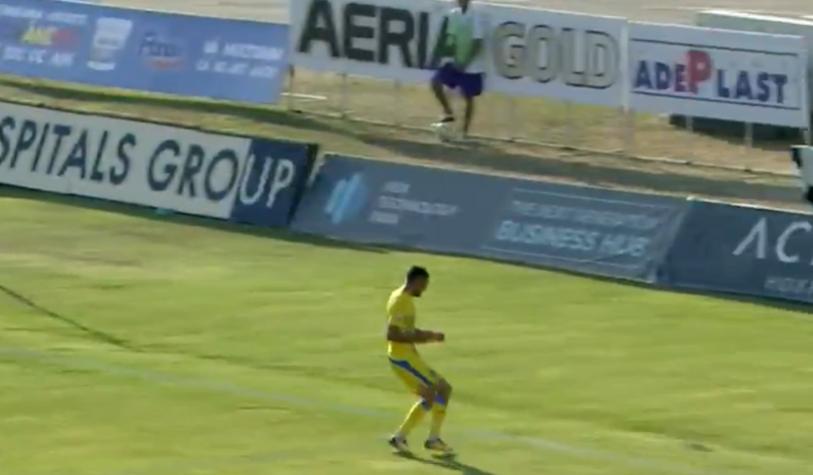 Ratarea campionatului în ACS Poli - Juventus Bucureşti! Un fost atacant al Craiovei a ratat INCREDIBIL! Unde a tras fotbalistul, după ce a rămas cu poarta goală în faţă | FOTO