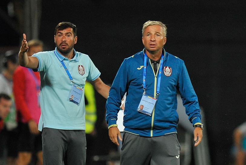 """Dan Petrescu: """"Asta e România. Fiecare ţipă. Ce a făcut CFR Cluj?"""" De ce a încheiat """"Bursucul"""" nervos meciul care i-a adus a treia victorie consecutivă"""