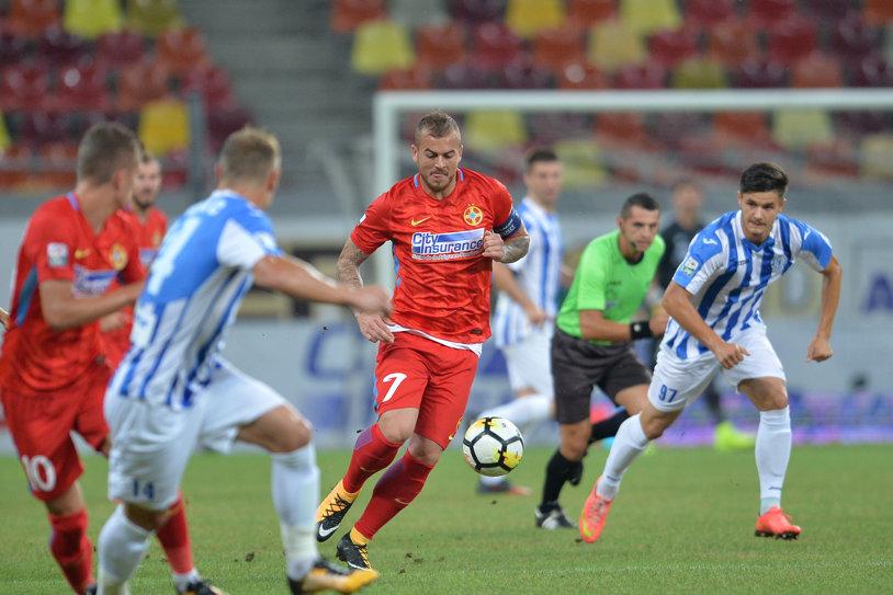 LIVE BLOG | FCSB - CSM Poli Iaşi 1-1. Penalty-ul lui Gnohere anulează golul lui Platini, iar vicecampioana rămâne datoare